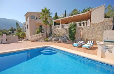 Villa and Pool in Adsubia